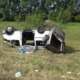 Легковушка и микроавтобус с детьми столкнулись под Новосибирском: 17 пострадавших