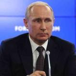 Путин пожелал украинцам мужества