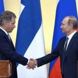 Президент Финляндии осадил шведов, недовольных визитом Путина