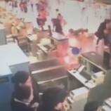 СМИ: взрыв самодельной взрывчатки в шанхайском аэропорту попал на видео