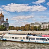 Экскурсии по Москве-реке на водном трамвайчике
