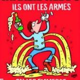 Журнал Charlie Hebdo выпустил карикатуру натеракты вПариже